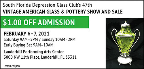 Glass Show Ad